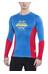 Directalpine Shark 1.0 T-Shirt Herren blau/rot